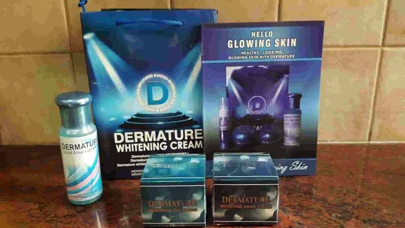 Dermature whitening cream